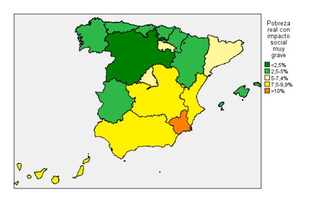 Mapa pobreza real